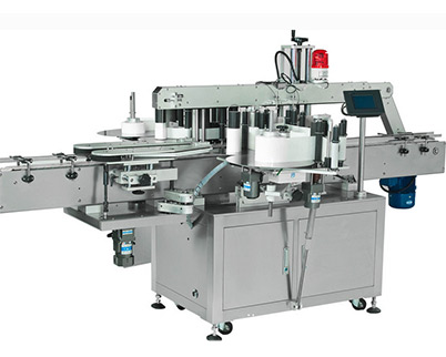 Double Heads Sticker Labeling Machine